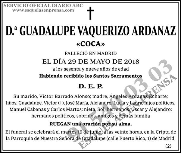 Guadalupe Vaquerizo Ardanaz